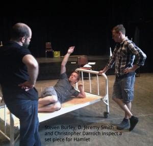 Hamlet Bed Rehearsla